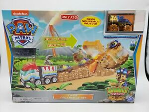 Paw Patrol DINO RESCUE Chase T-rex Vehicle Set TARGET EXCLUSIVE 2020 New