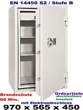 Wertschutzschrank,Tresor,Safe,Feuerschutz 60 Min. ELO-Schloss, EN-14450 in S2/B.