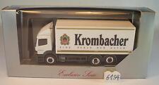 Herpa 1/87 Mercedes Benz Atego 2528 LKW Koffer Krombacher Pils OVP #6194