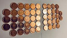 2012 Magnetic one cent roll-Mint -50 coins-Last Year of Canadian Penny