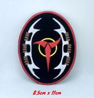 Star Trek Klingons Insignia Badge Iron on Sew on Embroidered Patch #1373