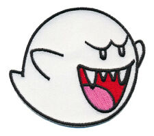 GHOST BOO SUPER MARIO GAME IRON SEW ON PATCH