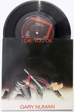 "GARY NUMAN 7"" I Die You Die / Down In The Park  UK CARD PS A2 / B1 Matrix MINT"