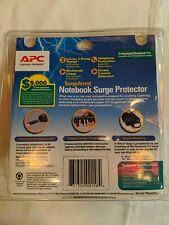 APC American Power Conversion P1T Notebook & Phone Surge Protector NIP