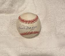 Joe DiMaggio Signed AUTOGRAPHED OAL BASEBALL JSA LOA NY YANKEES
