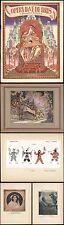 Russische Oper - Konstantin Korovin Russland Jugendstil - Bilibin 1929 Russe