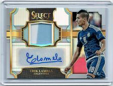 2017-18 Select Autograph Jersey #JA-EL Erik Lamela #49/99 Argentina