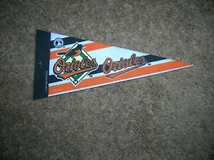 Baltimore Orioles 1990's mini pennant