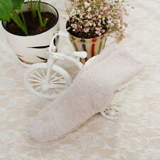 Fashion NEW Home Women Girls Soft Bed Floor Socks Fluffy Warm Winter Pure Color