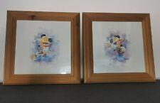 More details for mickey mouse guitar watercolour art print kim raymond framed signed disney