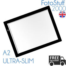 "Small A2 LED Ultra Slim Light Box Dimmable Photographic 5600K 21"" x 13"" Lightbox"