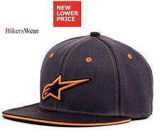 Alpinestars Sussex Cap / Hat -Flat Peak Men's casual look Charcol / Orange
