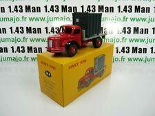 DT84E Voiture réédition DINKY TOYS atlas : 34B Plateau Berliet Container