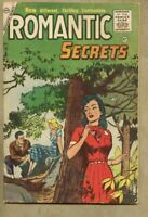Romantic Secrets #6-1956 gd/vg 3.0 Charlton Romance Marc Swayze