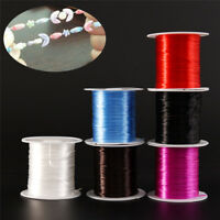 Strong Stretchy Elastic Beading Thread Cord Bracelet String Jewelry DIY 1MM TK