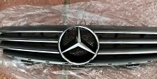 Mercedes CLK W209 CLK 200 320 500 front Grill with Emblem in Black