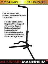 Cem MC universal Sazständer, schwarz - für eine Saz Baglama icin AYAKLIK süper