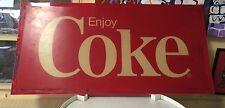 Coca Cola Vending Machine plastic Topper Sign