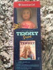 American Girl Tenney Grant Mini Doll and Mini Book Brand New in Box 6 inch