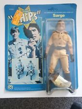 CHIPS : Jon Ponch Sarge figure 3 set vintage  Mego 1977