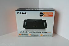 D-LINK DHP-1565 Wireless N PowerLine Gigabit Router NEW!