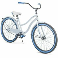 "Huffy 26"" Cranbrook Womens Cruiser Bike with Perfect Fit Frame, White, IN HAND"