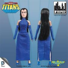The New Teen Titans Raven 8 Inch Action Figure New In Polybag