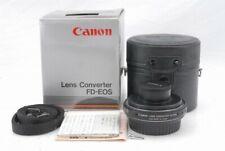 Read Canon Lens Converter FD-EOS *11260