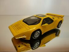 BAN SENG BAN014A VECTOR W8 TWIN TURBO 1989 - YELLOW 1:43 RARE - EXCELLENT - BS