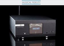 Musical Fidelity M1-CLiC Schwarz Vorstufe Netzwerkplayer DAC UVP war € 1.699,00