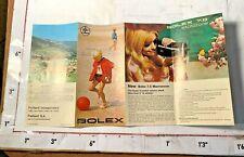 Paillard-Bolex Linden NJ/Switzerland Video Recorder Cameras Accessories Brochure