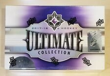 2017-18 UD Upper Deck Ultimate Collection Sealed Hobby box Hockey FREE SHIP