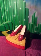 """Wizard of Oz, Ruby Slippers Cookie Jar, """"Star Jars"""" Extremely limited-1996"""