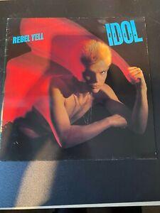 "Billy Idol Rebel Yell 12"" Vinyl Record LP"