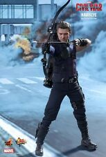 HAWKEYE Hot Toys 1/6 Figure (Captain America Civil War) jeremy renner MEGA SALE