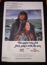 SAILOR WHO FELL FROM GRACE WITH THE SEA movie poster KRIS KRISTOFFERSON original