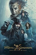 PIRATES OF THE CARIBBEAN 5 - ONE SHEET - MOVIE POSTER 22x34 - DEPP 15102