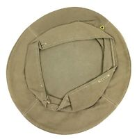 Original WWII US Army Tan Cover Size 7 for Visor Hat UNUSED #A26