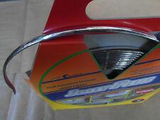 Perfil autoadhesivo decorativo protector multiuso para coche cromado 9mm 5m