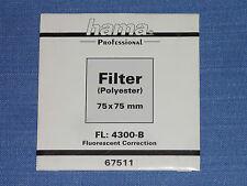 Hama Wratten  Filter  75x75  FL:4300-B
