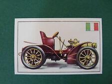 N°63 FIAT TYPE 16|24 ITALIE ITALIA 1903 PANINI 1972 HISTOIRE DE L'AUTOMOBILE