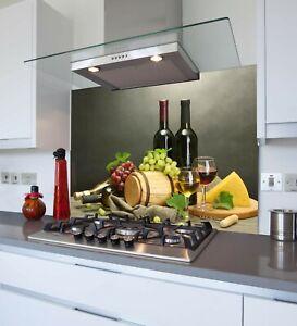 Printed Kitchen Glass Splashback - Toughened & Heat Resistant Cooker Panel 1076