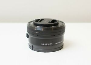 Sony E 16-50mm F3.5-5.6 OSS PZ Pancake Lens ~As New Condition