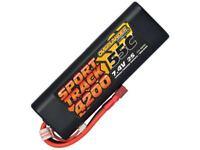 Overlander 4200mah 7.4v 55c Hard Case Lipo Battery (T Connector)