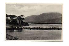 Ireland - Galway, Connemara, Lough Shindilla - Vintage Postcard
