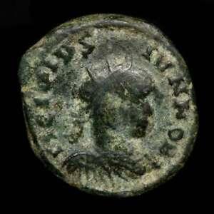 *Lucernae* Crispus radiate follis Barbarous style (4068) Ticinum 317-326 A.D.