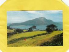 HOLY  ISLAND  from  LAMLASH   ISLE OF  ARRAN  ,  AYRSHIRE   , SCOTLAND   ( 51g )