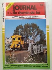 Revue Journal du Chemin de Fer  – n° 49 -  Avril 1991