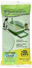 Purina Tidy Cats Breeze Cat Pads Refill Pack - 10-Count Pouches