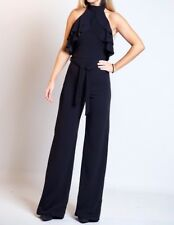 Black Bodycon Party Evening Holiday Summer Occasion Jumpsuit rrp £75 ❤️
